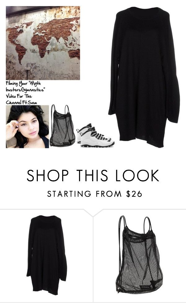 """""""Filming Your """"Myth busters:Gymnastics"""" Video For The Channel Ft.Sam"""" by britneygeminigirl ❤ liked on Polyvore featuring Y-3 and Athleta"""