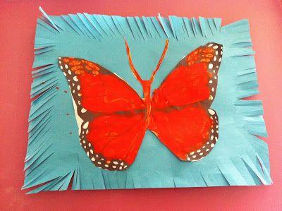 Rockabye Butterfly: Monarch Butterfly Craft