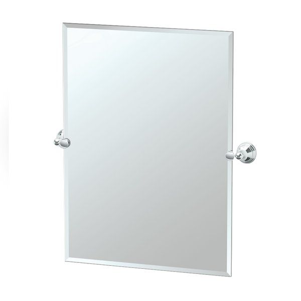 A good mirror is a reflection on the rest of your bathroom. A Charlotte mirror could be the mirror you are looking for. Its classic design featuring a tiered detail is matched with a hand-polished finish making it perfect for traditional bathroom styles. If you are fond of this product you will love the rest of the Charlotte Collection from Gatco, with its elegant style, to complete your bathroom accessory suite.