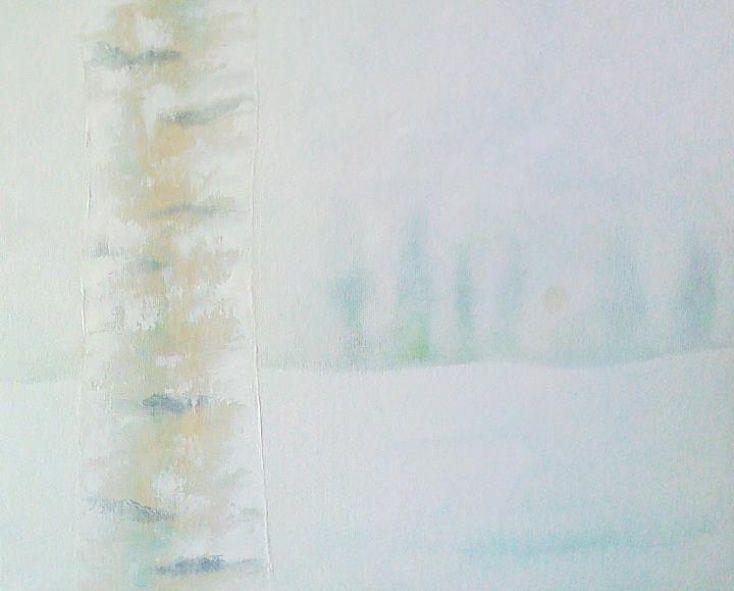 ARTFINDER: Frozen Birch by Joseph Mcgill -