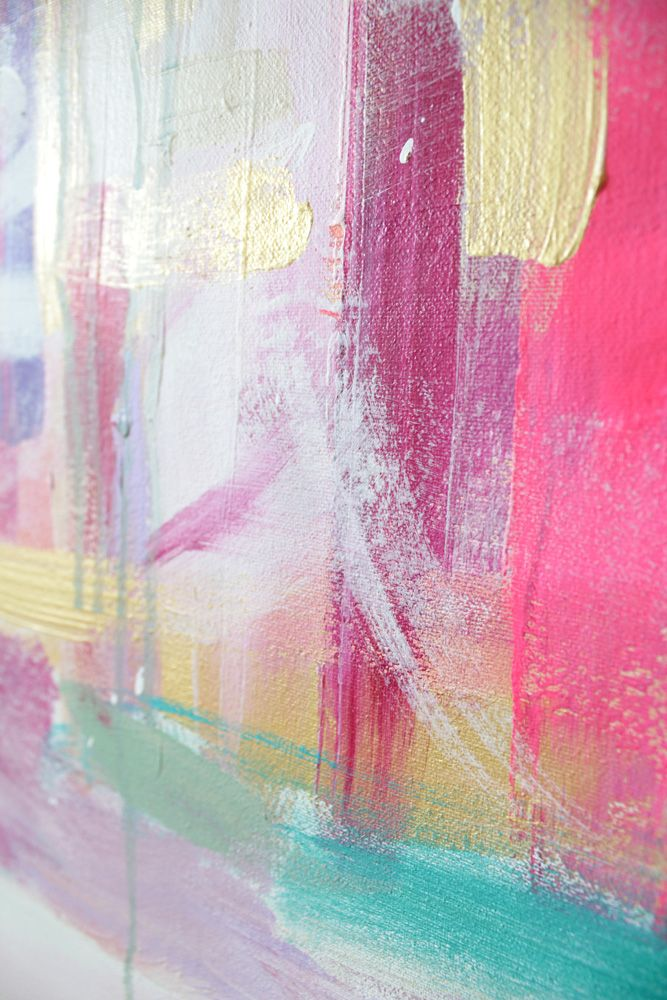 Flourish - an original painting by Jen Ramos at Cocoa & Hearts