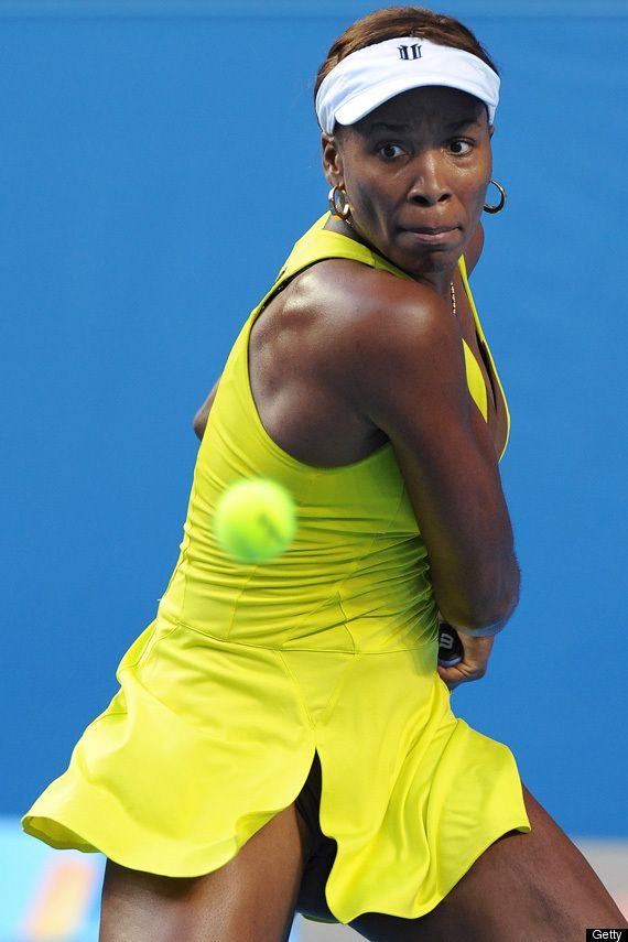 """Chiropractic gives me the flexibility I need to keep in the game."" -Venus Williams. Picture via HuffingtonPost.com."