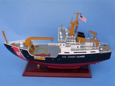 US Coast Gaurd wooden Buoy Tender 16""