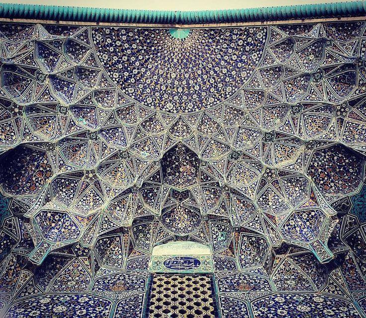 Мечети Ирана. Запрет на изображение человека привел к фантастическому расцвету искусства орнамента via