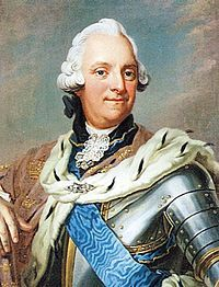 King Adolf Frederick of Sweden