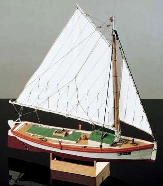 Corel flattie chesapeake bay fishing boat model kit for Model fishing boats