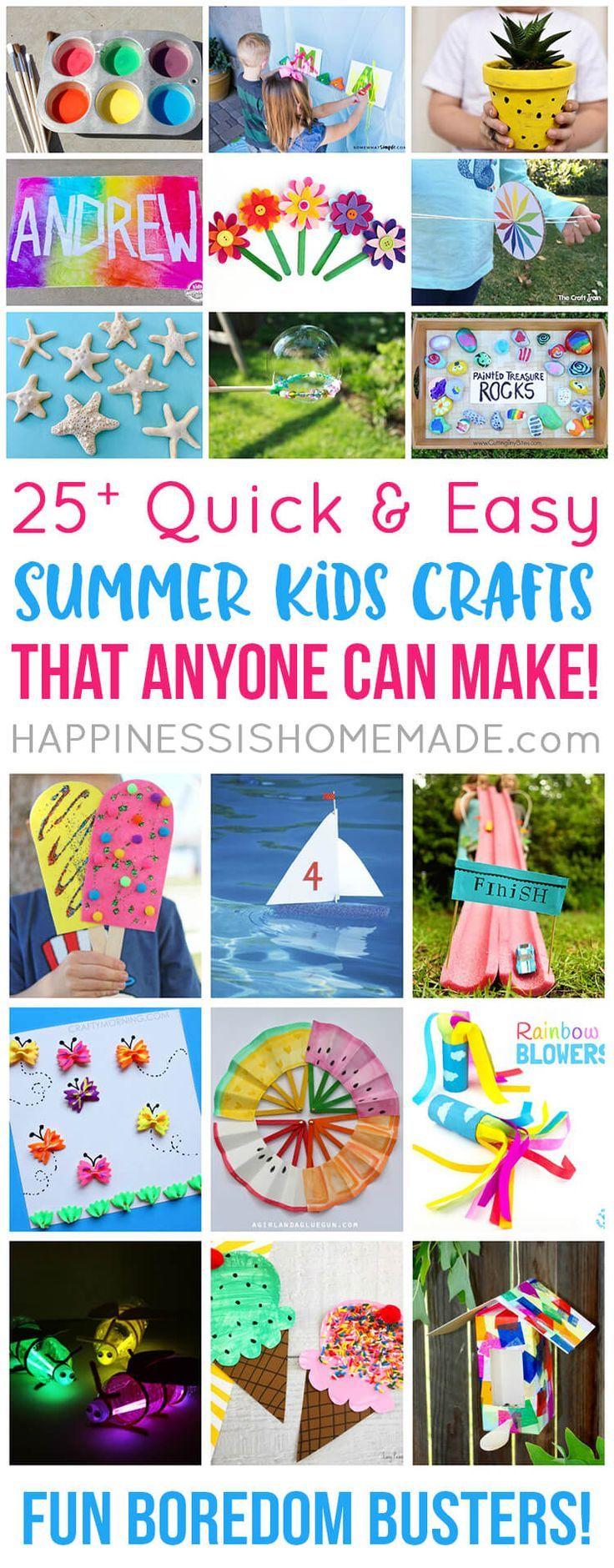 Best 25 Summer Kid Crafts Ideas On Pinterest Fireworks Craft in craft ideas 30 minutes with regard to Property