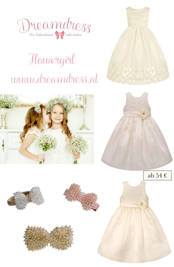 Flowergirl - traumhafte Kleider der American Princess Couture Collection gibts auf Dreamdress.at! #bridal, #flowergirl, #AmericanPrincesscouture, #festtagskleid, #traumkleid, #mädchnenmode