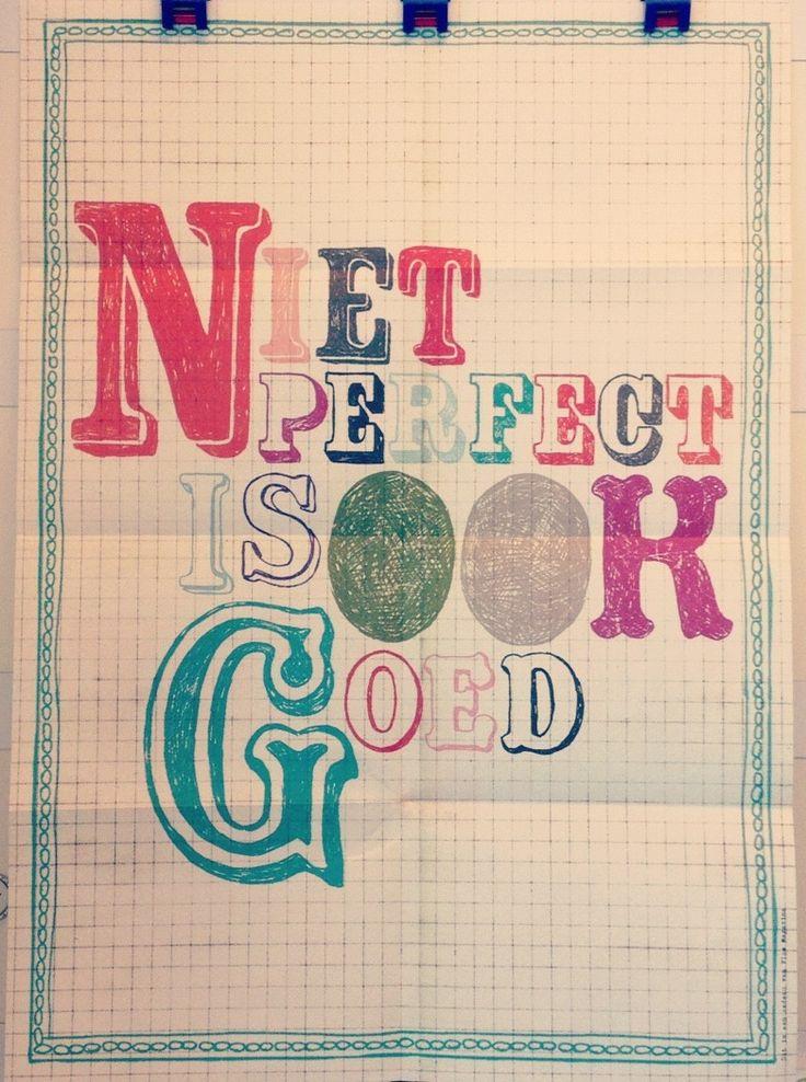 Mazzelmaandag Poster Perfect