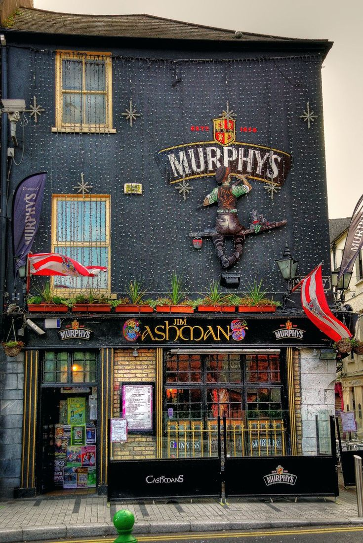 Pub in Dublin. Ireland.