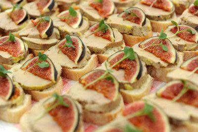 Toasts de foie gras et figue fraîche | Recette | Foie gras aux figues, Figues fraiches et ...