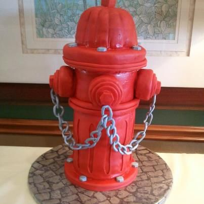 fire hydrant groom cake