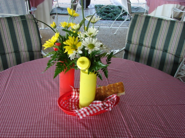 Summer Picnic Centerpiece Ideas : Best images about event and wedding work by marys