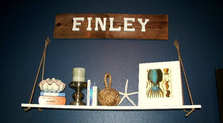 Love the wooden name plate!