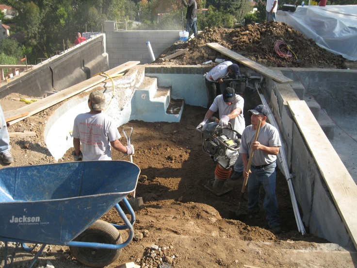 333 best demolition images on pinterest arch backyard and backyards for Swimming pool demolition los angeles