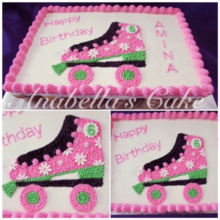 1000 Ideas About Roller Skate Cake On Pinterest Disco