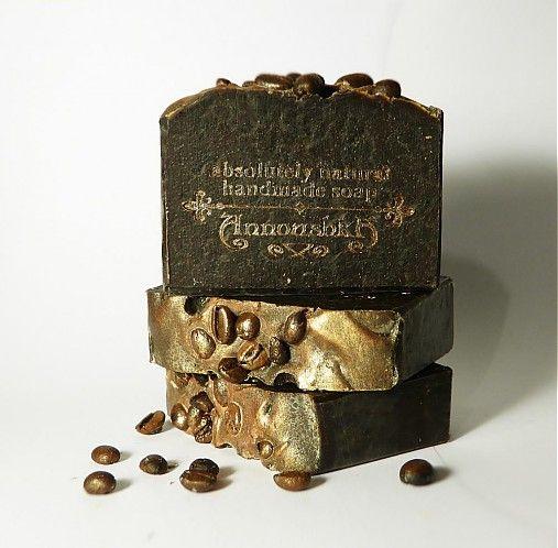 """Annoushka / Coffee Scrub - prírodné ručne robené mydlo """"Kávový peeling"""""""
