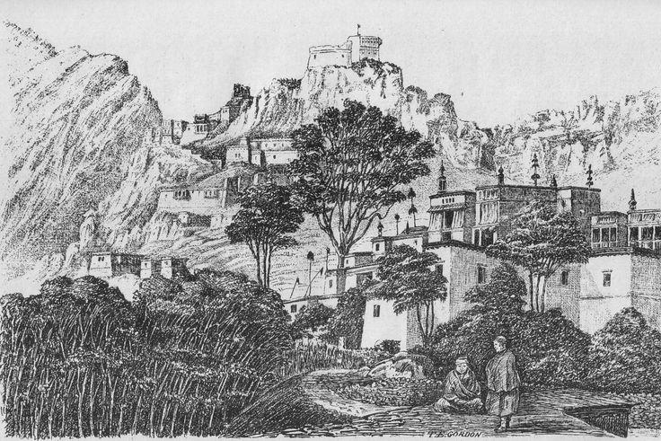 File:Hemis Monastery Ladakh 1876.jpg