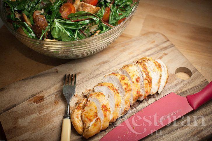 Рецепт: Запеченное куриное филе