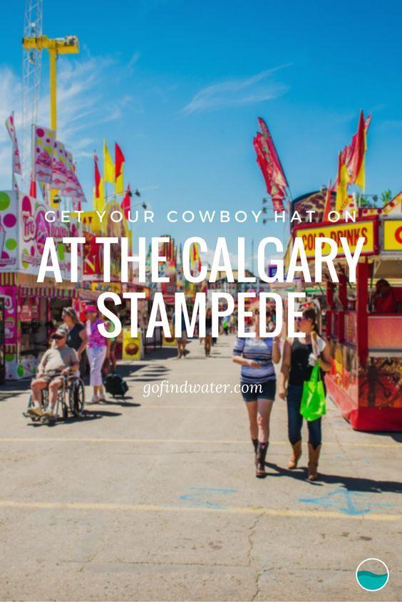 Elk jaar, voor 10 dagen lang, kan men zich een echte cowboy noemen in Calgary. De Calgary Stampede. De Beste Openluchtshow op Aarde.
