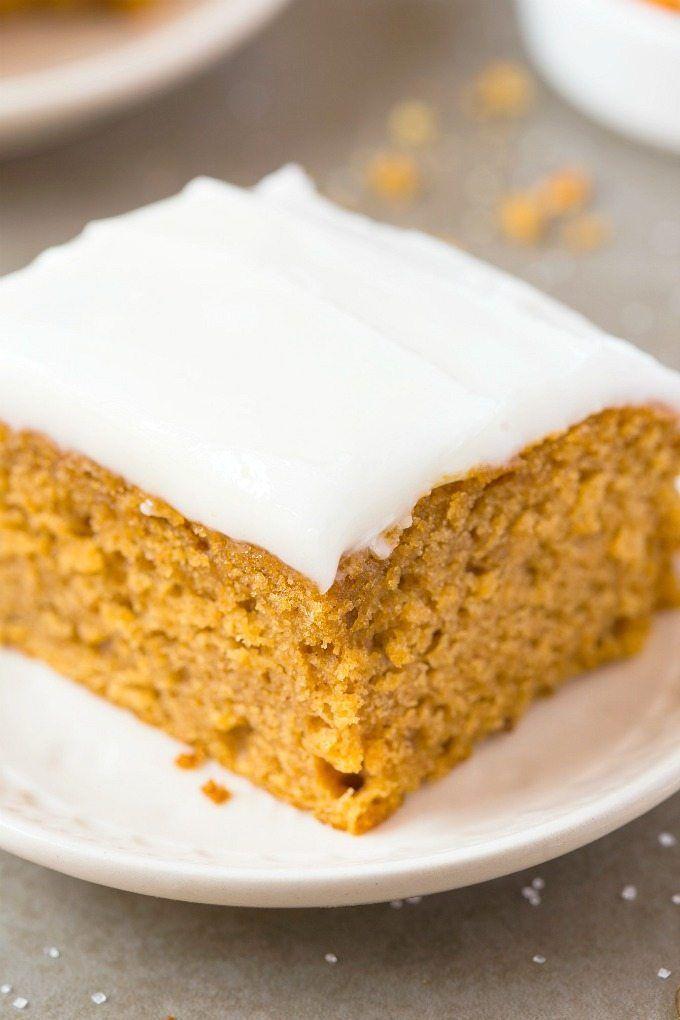 Gâteau de petit-déjeuner sain à la citrouille sans farine – Savourez un dessert au …   – For the vegans in my life