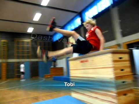 Parkour and Freerunning School Project - YouTube