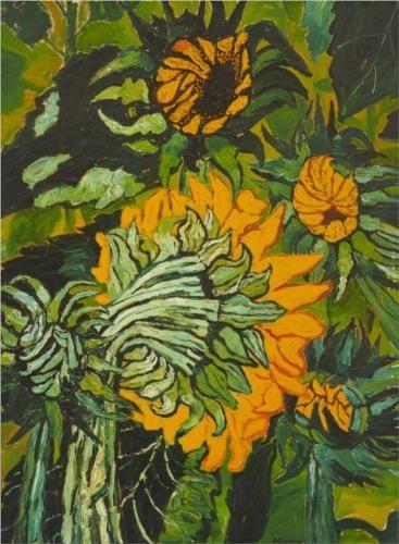 Sunflowers++-+John+Bratby