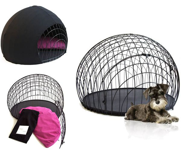 Simple wire dog crate for your pet friend