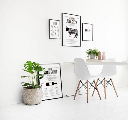 We hebben mooie posters naar de keuken. Maak een mooie foto muur met de massa van onze keuken posters. www.desenio.nl