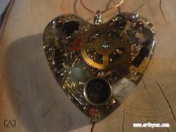 SP-OAEBB-Magnetic energy catcher heart-J-key
