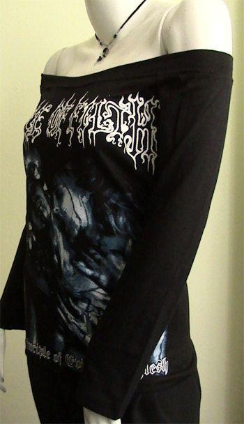 CRADLE of FILTH Metal evil made flesh  DIY Women Top by obskura, $34.99Flesh Diy, Sick Ass, Metals Evil, Metals Clothing, Filth Metals, Fantasy Clothing, Diy Women, Ass Style, Geeky Gift