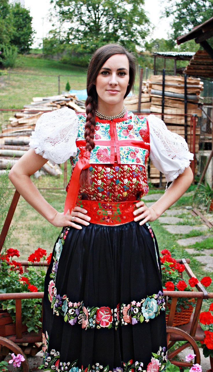 Kroje a tak : Photo Area of village Očová, Podpoľanie region, Central Slovakia.