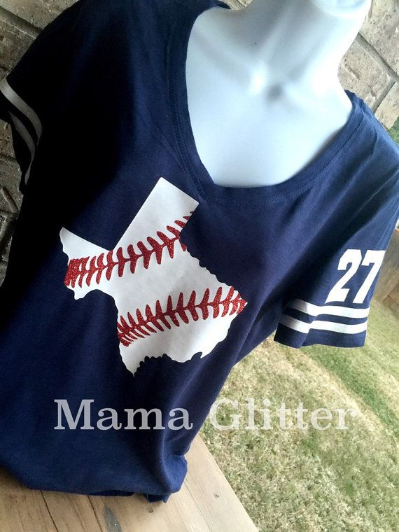 Hey, I found this really awesome Etsy listing at https://www.etsy.com/listing/267828338/v-neck-texas-laces-baseball-t-shirt