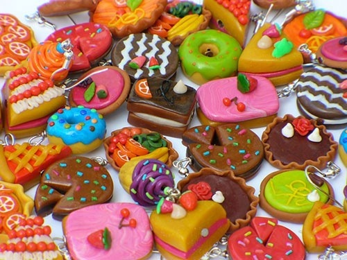 popping-with-my-passion: Miniatures Food, Decor Ideas, Food Chains, Rainbows Colors, Food Crafts, Slim World, Fast Food, Polymer Clay, Food Cakes