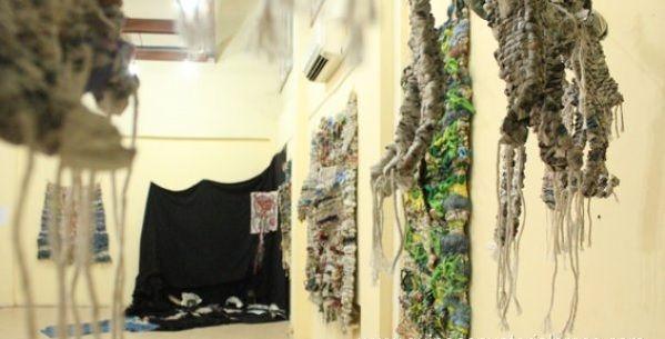 """Malabo - Wystawa Pocho Guimaraes: """"Modulation, wczoraj i dziś"""" <br />"""