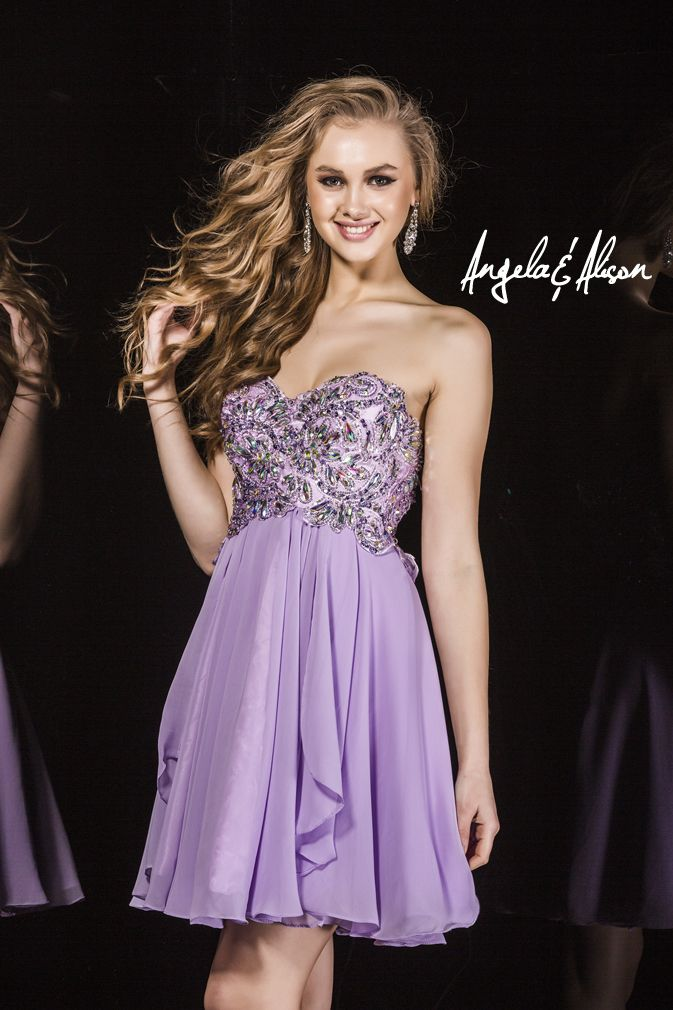 Style 42015 sweetheart neckline with lace and beaded bodice and chiffon skirt. Perfect for Prom, Homecoming, Gala, Wedding, Formal, Graduation, Ball... etc.