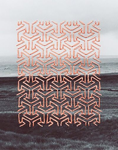Aaron Rinas for Lone Wolf Magazine #10 Embroidery is finally having its moment in the spotlight. Historically it has rarely been taken seriously as a craft