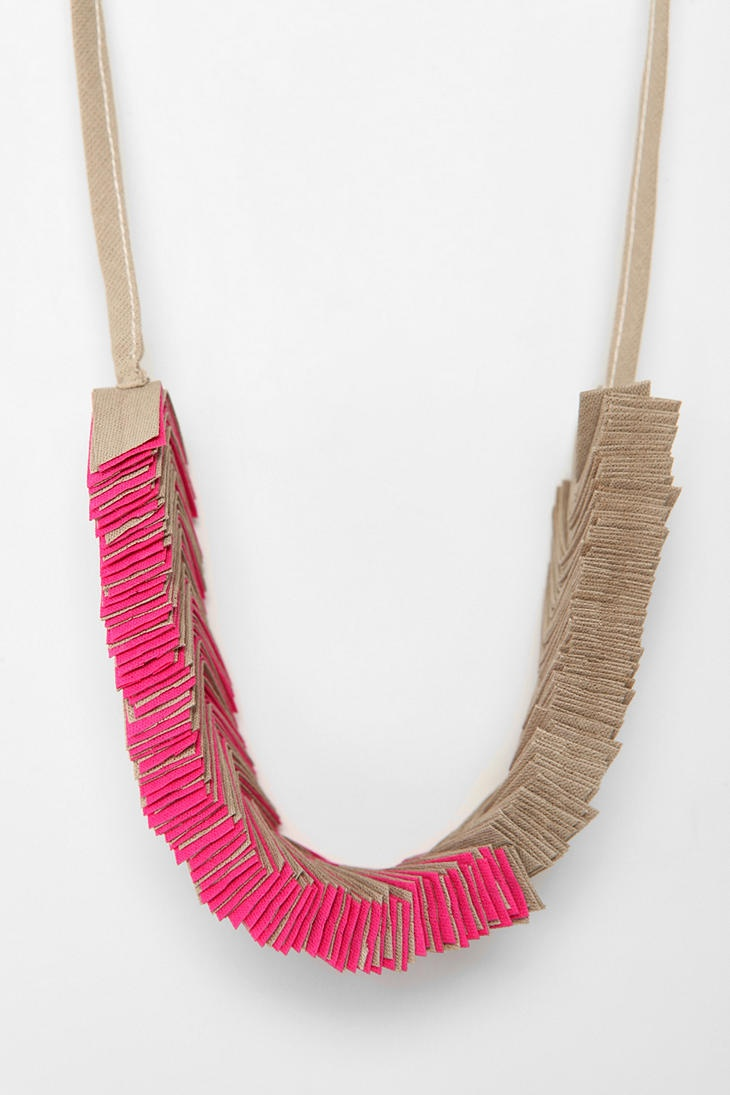 necklace boho fabric with shabalina online on in style elen item livemaster textile shop
