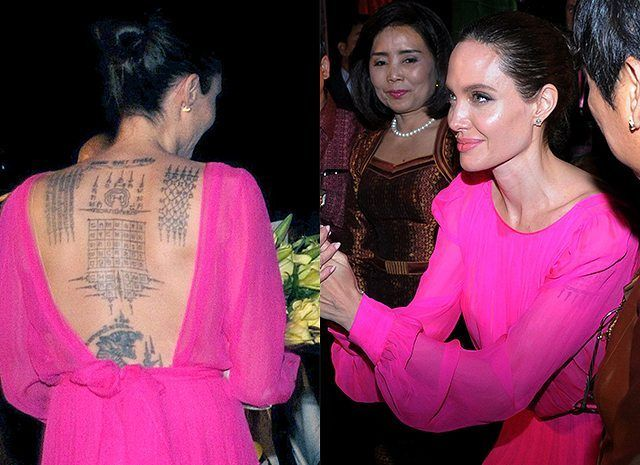 #Мода2017  Розовый во всех своих проявлениях, от нежно-пудрового до ядерной фуксии, будет на пике. Наконец-то девушкам можно будет по-настоящему отвести душу, покупая откровенно девичьи наряды в диких количествах не только дочерям и племянницам, но в первую очередь себе. ᅠᅠᅠᅠᅠᅠᅠᅠᅠᅠᅠᅠᅠᅠᅠᅠᅠᅠᅠᅠᅠᅠᅠᅠᅠᅠᅠᅠᅠ Модную тенденцию подтвердила Анджелина Джоли!  В платье цвета лотоса, на премьере фильма в Камбодже она поразила всех своим нарядом…