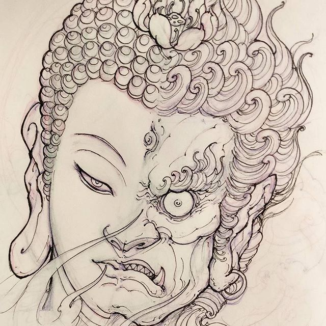 Buddha Fudo
