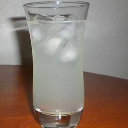Lime vodka, lemonade, and lemon-lime soda combine to make a refreshing summer cocktail.