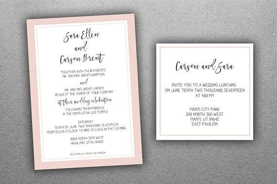 Elegant Inexpensive Wedding Invitations: 25+ Best Ideas About Elegant Wedding Invitations On