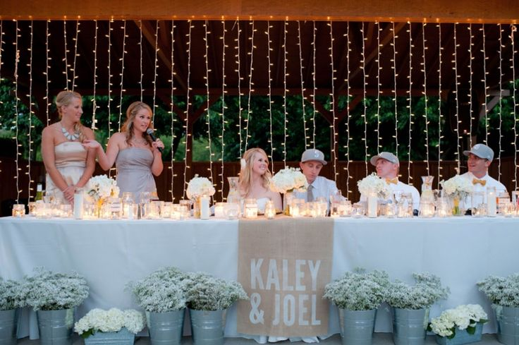 17 Best Images About Farm Weddings On Pinterest: 17 Best Ideas About Head Table Backdrop On Pinterest