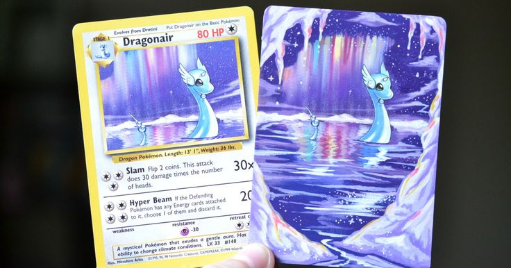 I Bring Old Pokemon Cards Back To Life By Repainting Them | Bored Panda