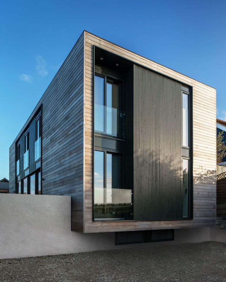 Cantilevered Oxford House