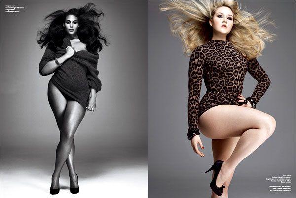 Beautiful Plus Sized Models - Real men love curves! ;D