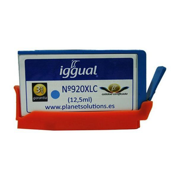 iggual Recycled Ink Cartridge HP Nº 920XL CD972A Blue2,42 €
