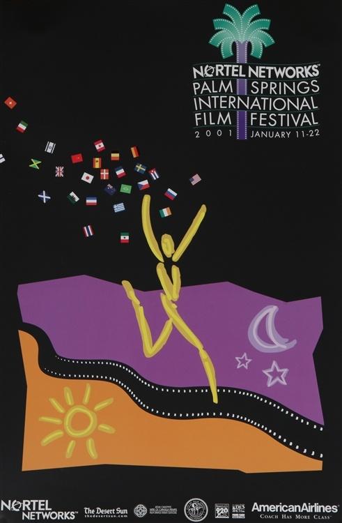 Palm Springs International Film Festival 2001 Poster