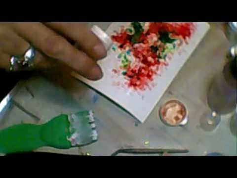 ▶ The Brusho Techniques - Jennings644 - YouTube-- Brusho colors are highly concentrated powder granules that produce masses of rich color with very little product used.