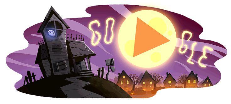 Google Doodle Halloween 2017 - Nate Swinehart